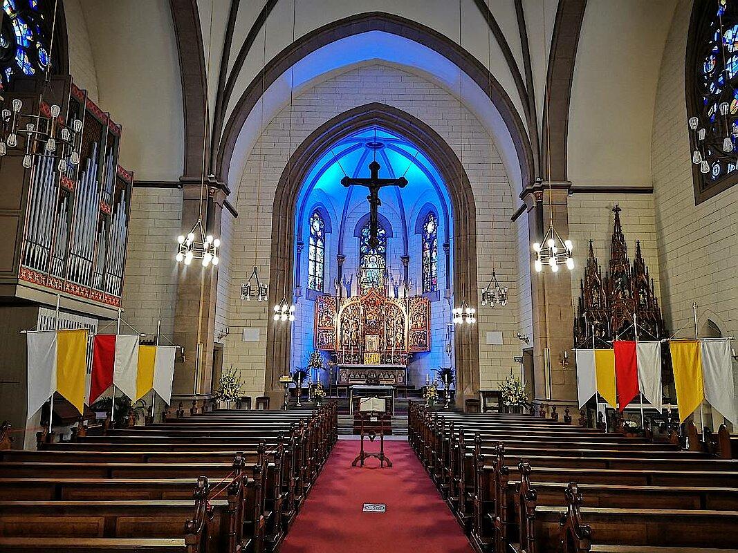 Katholische Kirche auf der Kulturmeile